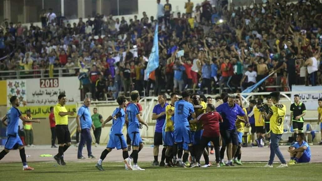 رسمياً.. القاسم وزاخو يتأهلان للدوري العراقي الممتاز لكرة القدم