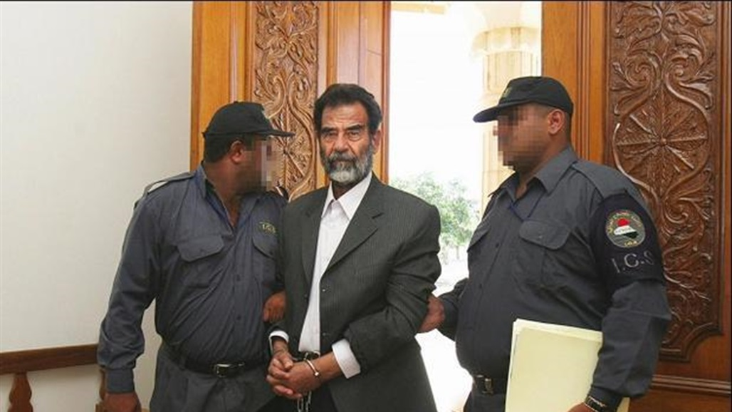 A lesson for officials .. Deputy proposes to put the image of Saddam handcuffed in the halls of the House of Representatives and Ministers Doc-P-314357-637007733256517052