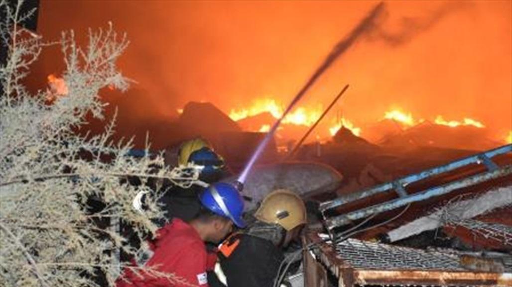 عمليات بغداد تعلن السيطرة على انفجار كدس العتاد وفتح الطرق بشكل كامل