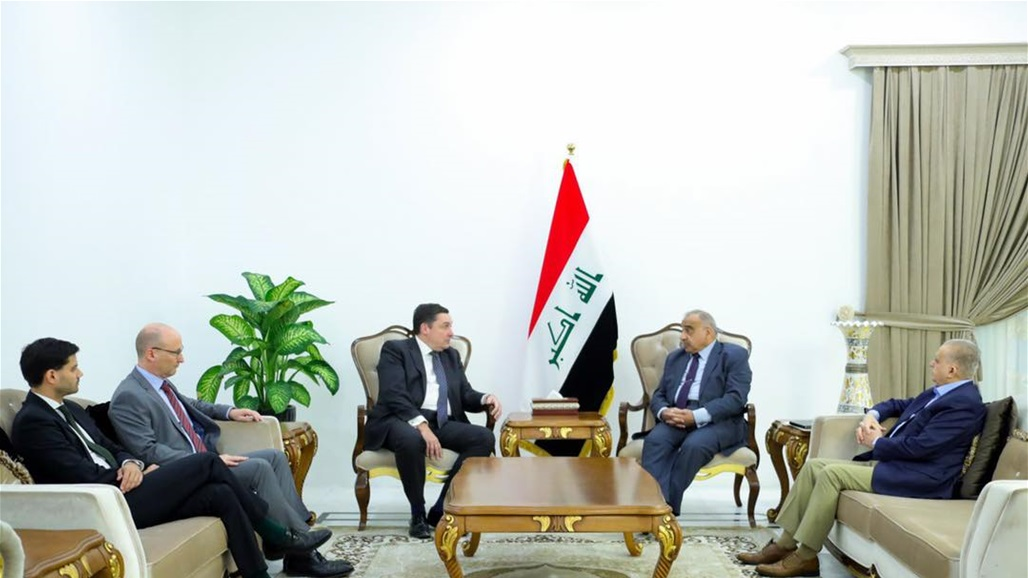 Abdul-Mahdi discuss with ambassadors of three countries crisis nuclear file in the region Doc-P-317693-637034749857061020