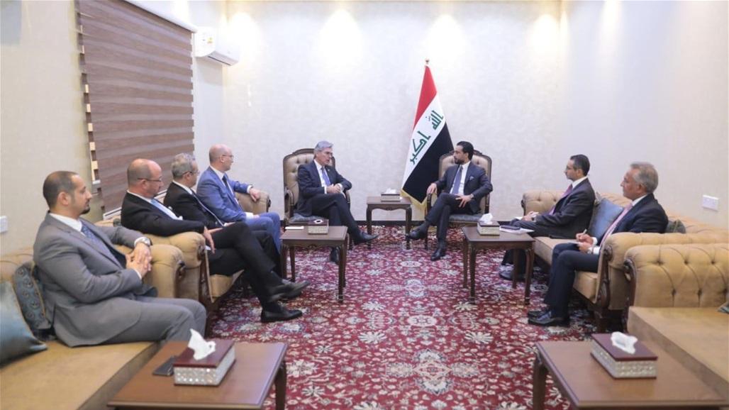 Abdul-Mahdi receives heads of German companies Siemens and Aqua Power Saudi Arabia and GE Doc-P-318321-637040787629318333