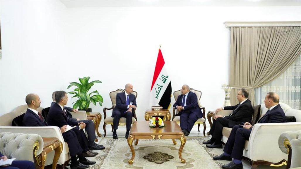Abdul-Mahdi receives heads of German companies Siemens and Aqua Power Saudi Arabia and GE Doc-P-318391-637041499432276989