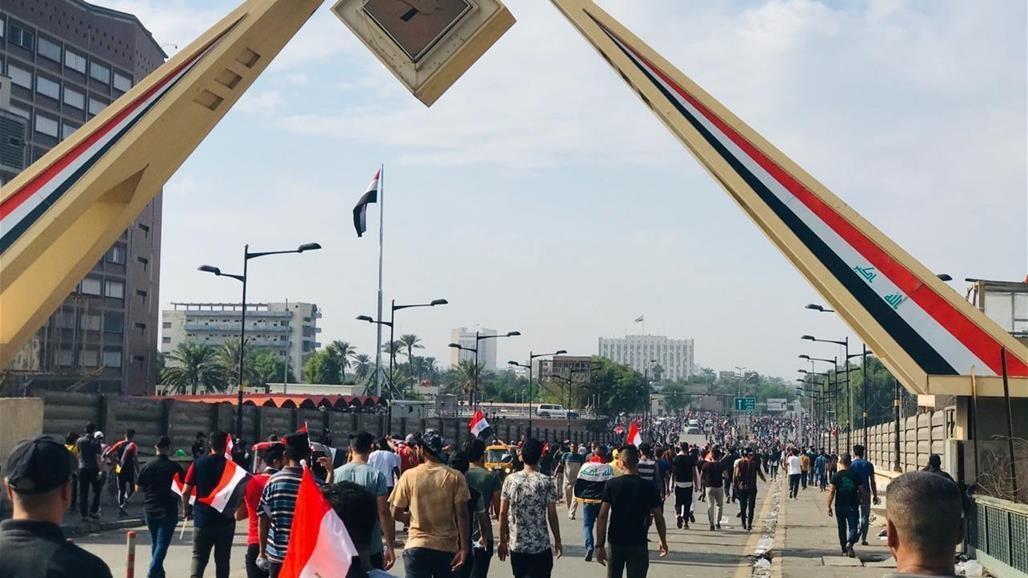 The number of cases of suffocation among demonstrators in central Baghdad to 33 cases Doc-P-322766-637075858715440098