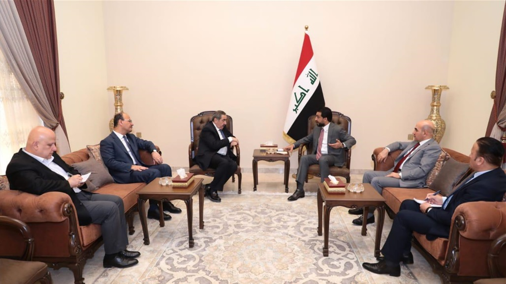 Speaker of the House of Representatives receives the delegation of the Kurdistan Democratic Party Doc-P-323755-637083793934246520