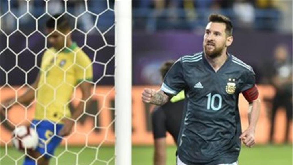 ميسي يقود الأرجنتين للفوز على البرازيل ودياً في السعودية