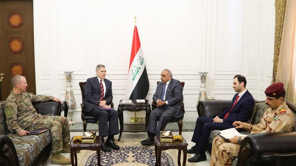 "Abdul-Mahdi and US Ambassador discuss continued cooperation to fight the remains of ""IS"" Doc-P-325350-637096887614398439"