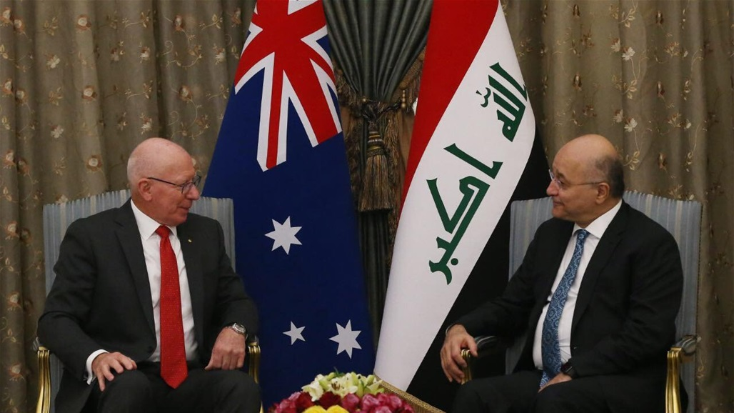 Saleh stresses the importance of Australia's contribution to the reconstruction of liberated cities Doc-P-328516-637121927149232901