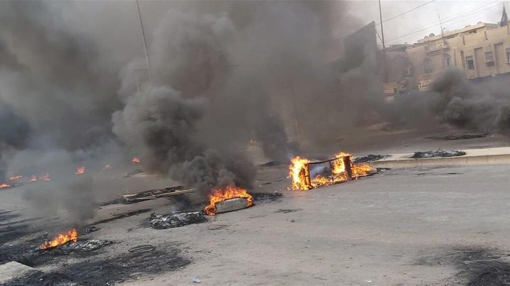 اغلاق جميع الطرق المؤدية الى ساحة الطيران وسط بغداد