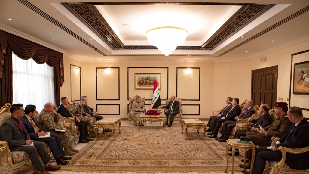 Saleh to the Commander of the US Central Command: Iraq will not be an arena of international conflict Doc-P-333554-637164391421492436
