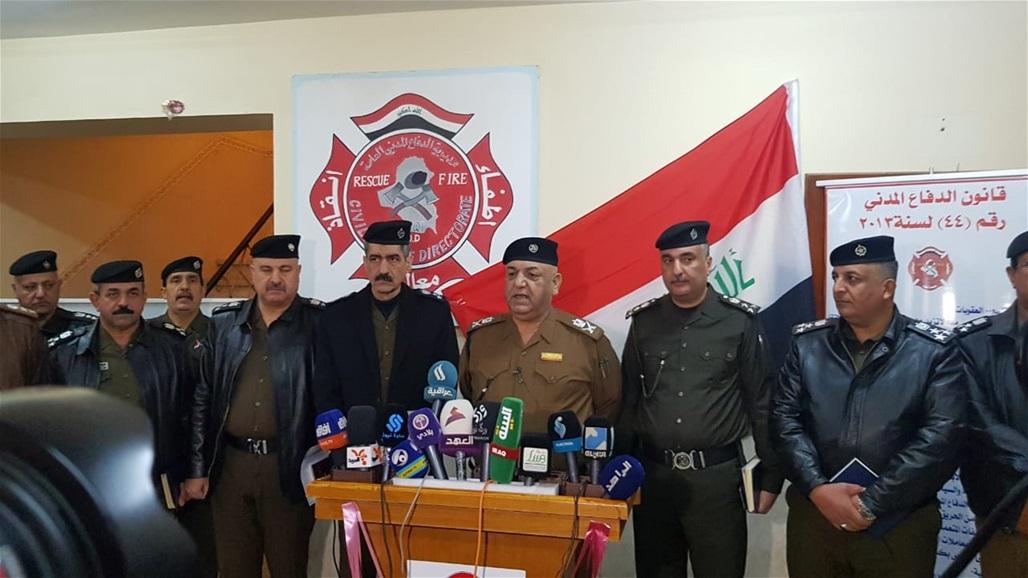 الدفاع المدني بشأن حريق مستشفى الحسين بالمثنى: غلق ابواب الطوارئ اجراء غبي