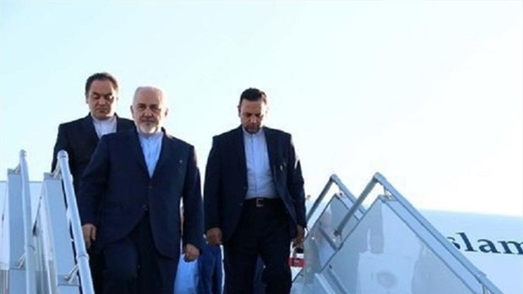 ظريف يصل بغداد سياسة
