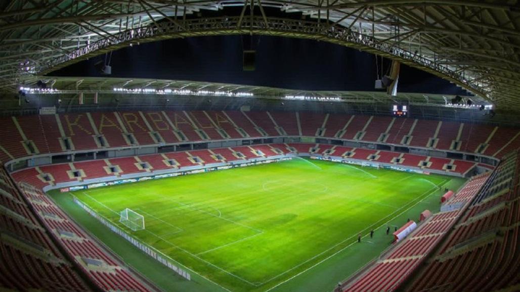 نقل مباراة النجف ونفط الوسط الى ملعب كربلاء الدولي
