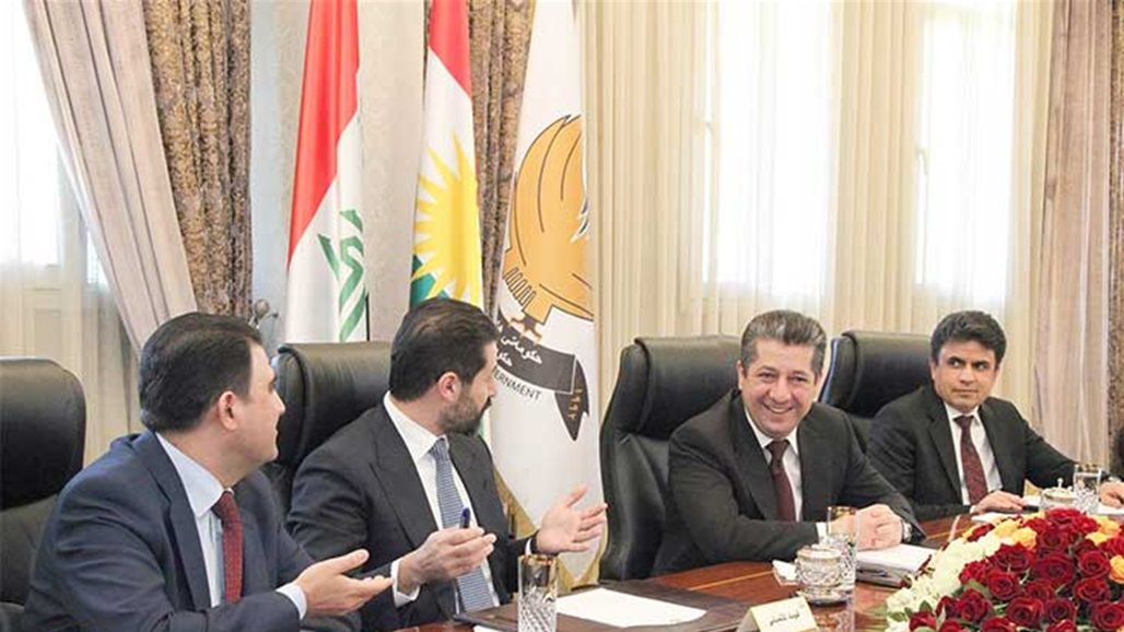 The Kurdish delegation arrives in parliament and holds a meeting