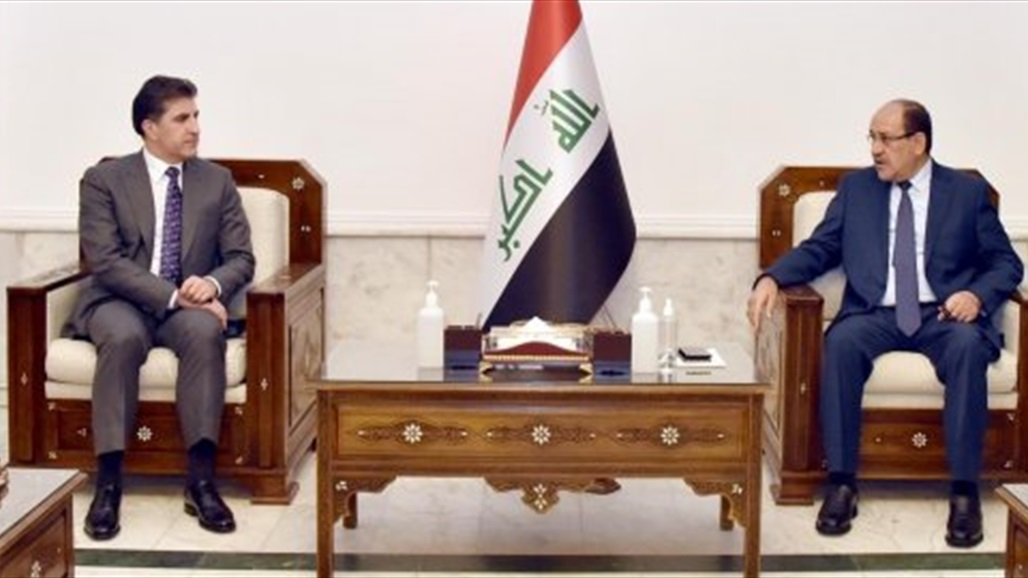 Al-Maliki and Barzani stress the need to reach radical solutions to the problems between Baghdad and Erbil
