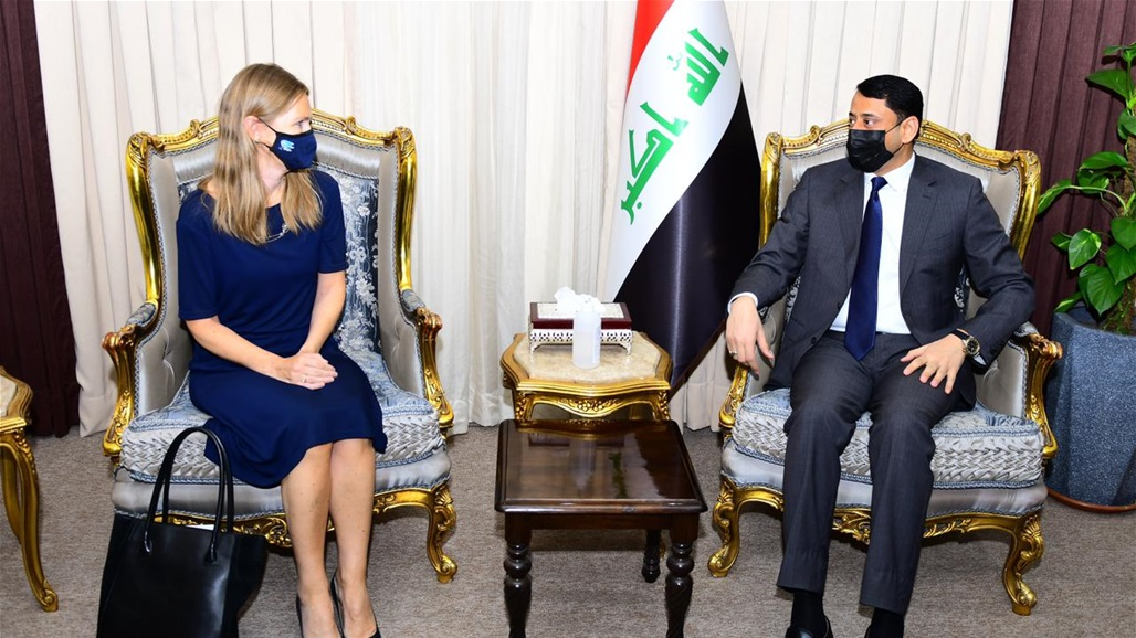 """Al-Ghazzi to """"Tun Elizabeth"""": The Iraqi government is serious about opening up to the countries of the world Doc-P-382041-637561552569096058"""