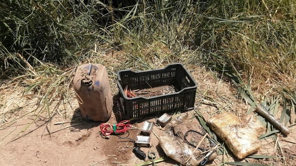 الاستخبارات العسكرية تعثر على مخبأ لداعش يضم اسلحة ومتفجرات في كركوك