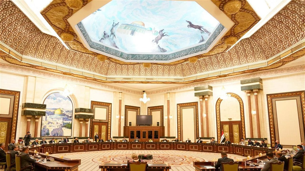 In the presence of the United Nations the government palace hosts a high-level meeting on the elections