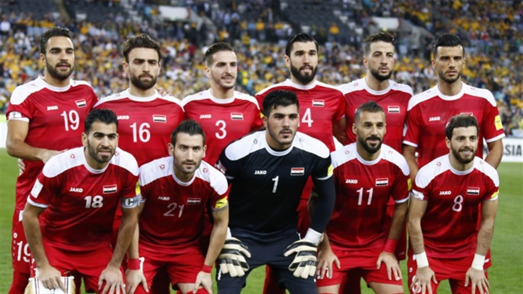 الكشف عن قائمة منتخب سوريا لمواجهتي كوريا الجنوبية ولبنان