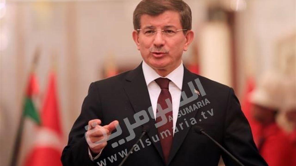 اوغلو: لا يوجد دليل على مرور مقاتلي داعش عبر تركيا