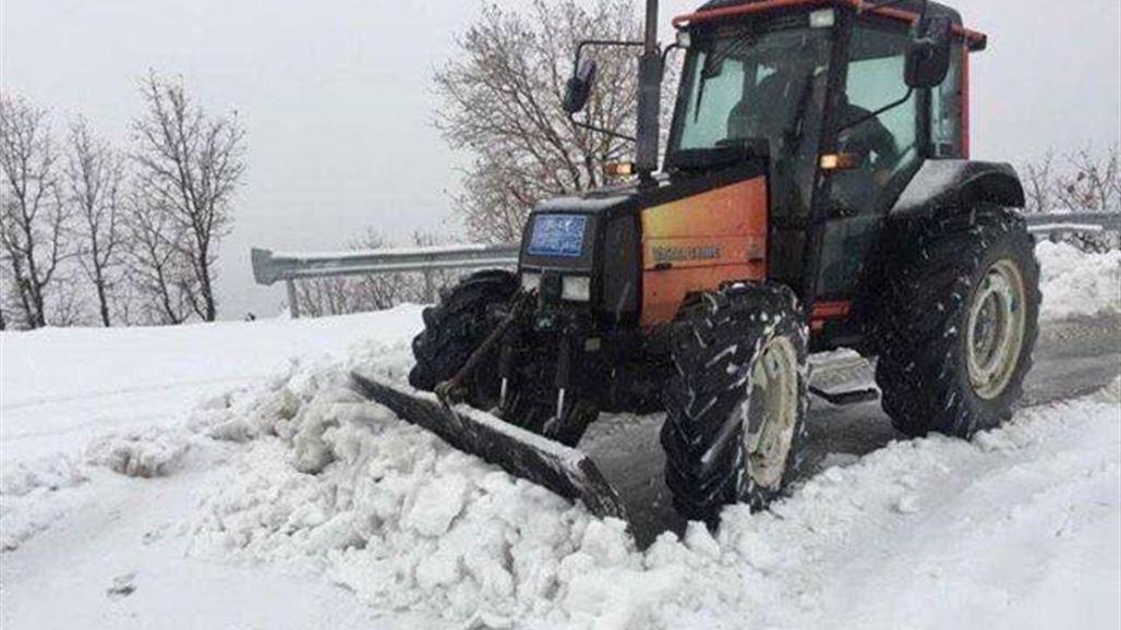 الأنواء: الثلوج التي تساقطت على المناطق الشمالية لم يشهدها العراق منذ عقود