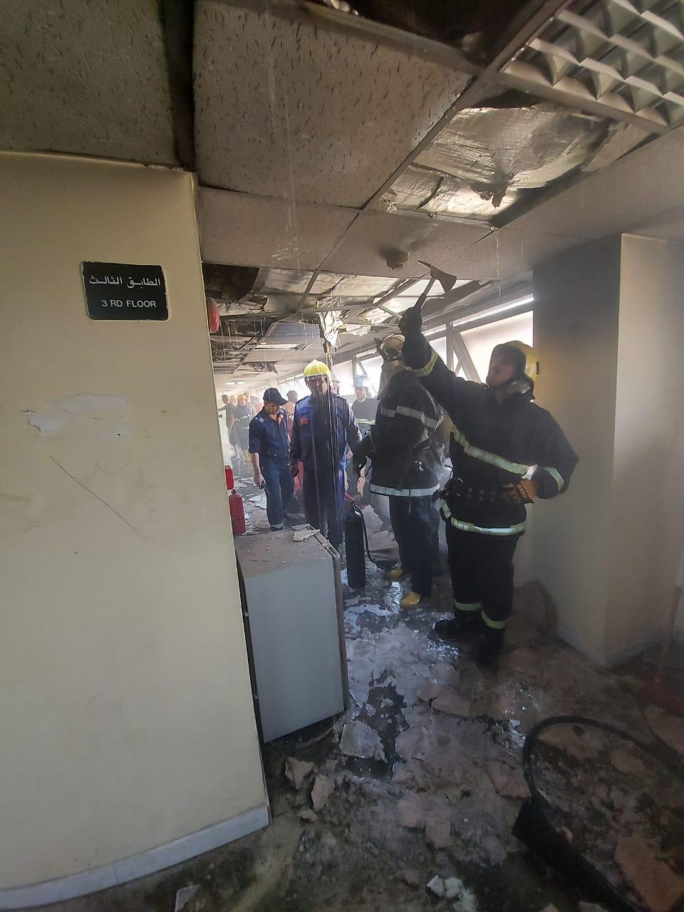حتى سكن اطباء بغداد أحرقوه