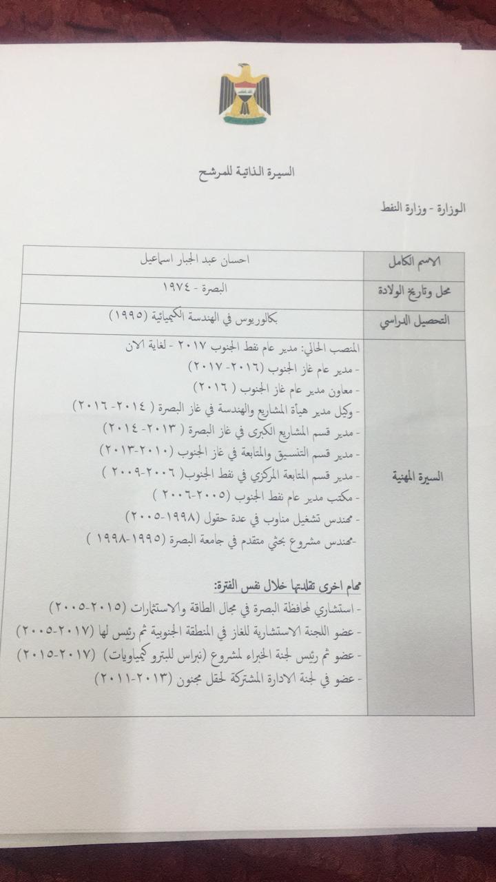 هل هذه القوائم صحيحة ام مزورة ؟ دكتوراه عربي مساعر و3 نواب للكاظمي ويصيحون ماكو فلوس !!!!
