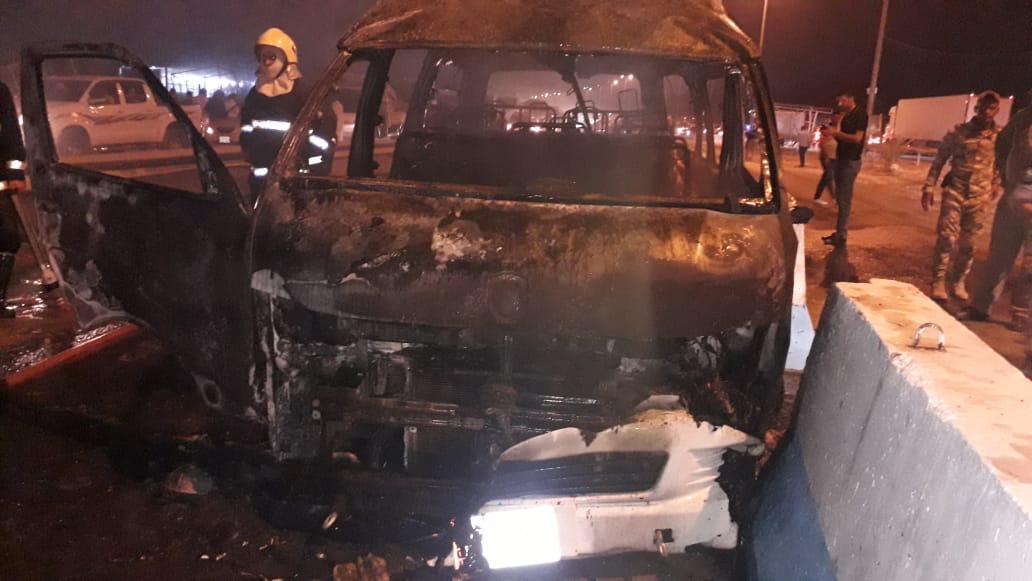 17 قتيلا في حصيلة إنفجار عبوة ناسفة داخل سيارة في #كربلاء والقبض على المنفذ في مطعم يأكل كباب