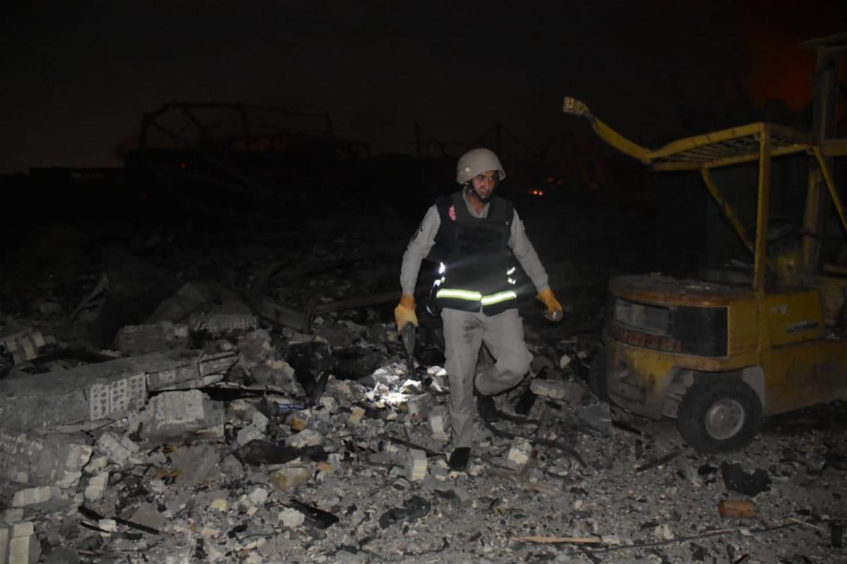 خبر خطير!التيار الصدري :التفجير استهدف اسلحة ايرانية من قبل امريكا بوشاية عراقية خائنة والولائي لم يقتل