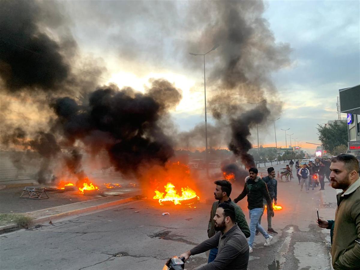آية الله اليعقوبي يأمر أتباعه بحرق بغداد بسبب جامع صدام الكبير