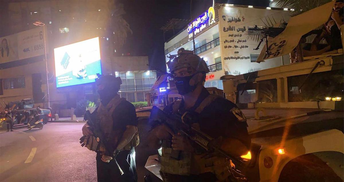 """#العراق_ينتخب و انتشار أمني في #بغداد استعداداً لاقتراع الغد """"صور"""""""