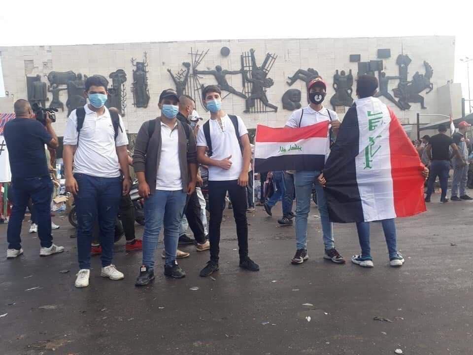 بالصور بغداد خرجت من بكرة ابيها مع المتظاهرين