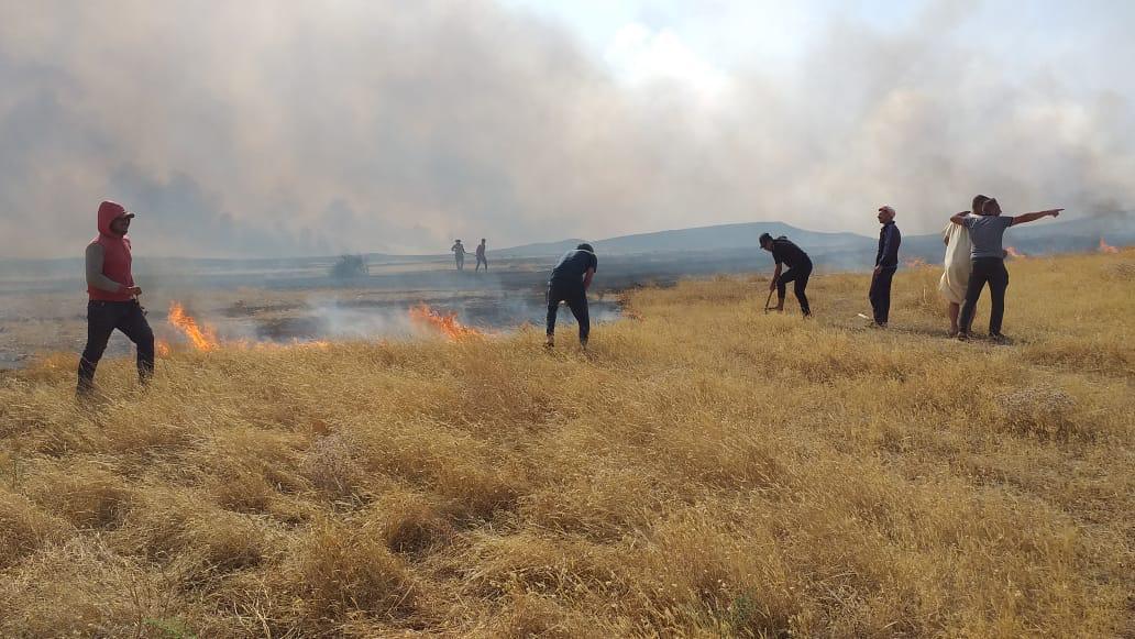 كبريت المشراق في نينوى يحترق الآن