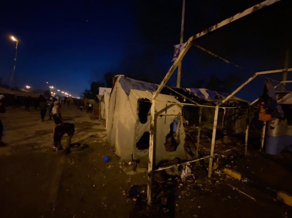 عجيبة!الاتحاد الاوربي يستنكر قتل النجفيين والسيستاني بعد أمتار صامت وإعدام قائد جيش المهدي حازم الحلفي