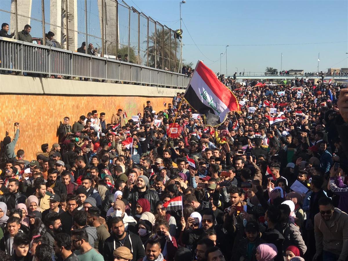 بعد إعتراض البنتاغون ..عبد المهدي : الشرطة وليس الجيش الذي دربتموه يواجه الشعب!!